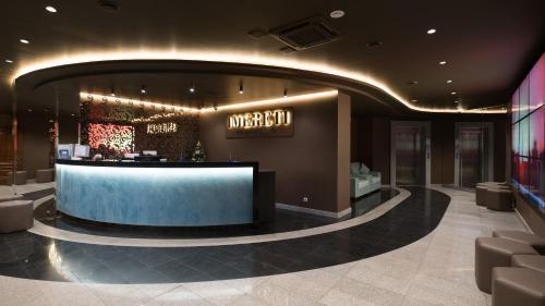 Hall ou réception de l'établissement Hotel Imereti