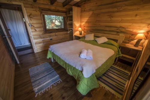 Cama o camas de una habitación en Onai Hostel