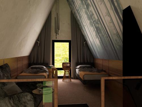 Зона вітальні в Shishkinn Resort&Spa