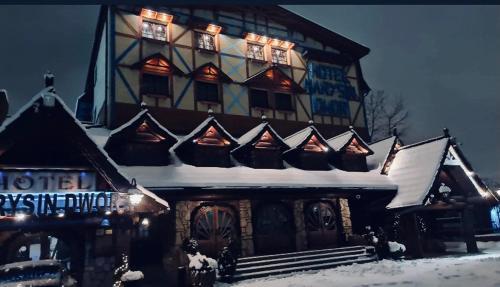 Hotel Marysin Dwór зимой