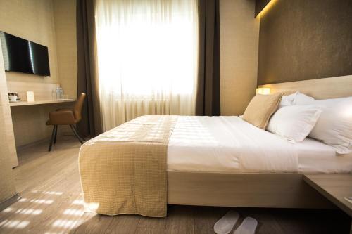 Krevet ili kreveti u jedinici u okviru objekta Prince Hall
