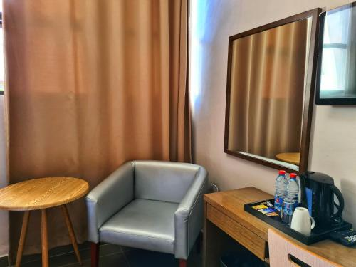 A seating area at Stay Inn