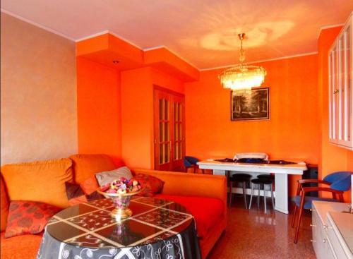Zona de estar de Apartamento con encanto bien equipado