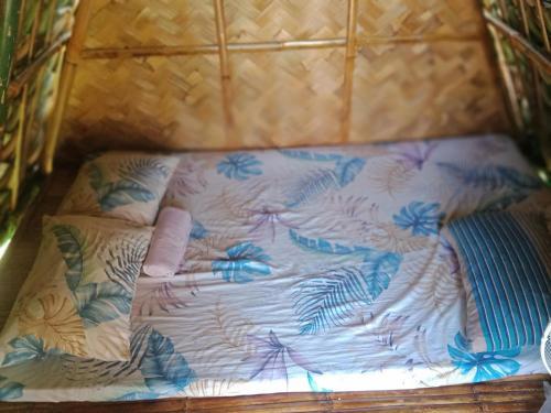 Un ou plusieurs lits dans un hébergement de l'établissement Dupas Luce Love Lodges