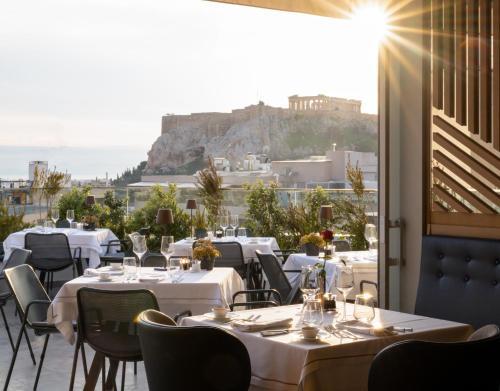 מסעדה או מקום אחר לאכול בו ב-Electra Hotel Athens