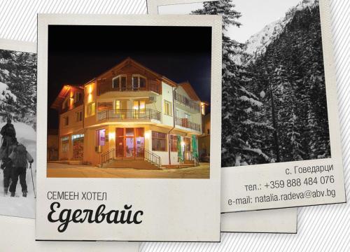 Guest House Edelweiss during the winter