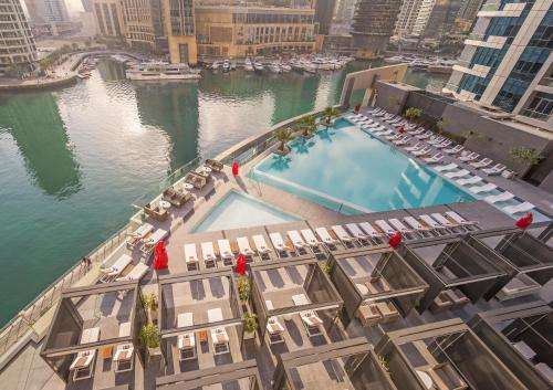 A view of the pool at InterContinental Dubai Marina, an IHG Hotel or nearby