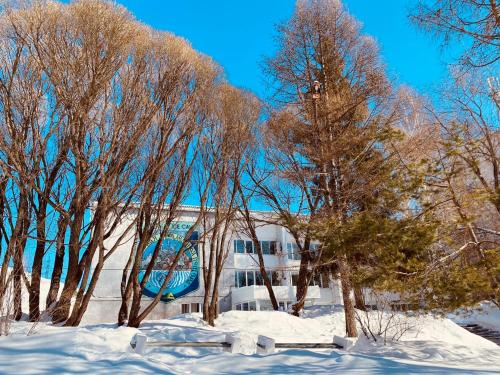 Hotel Stalagmit during the winter