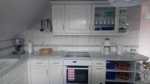 A kitchen or kitchenette at Apartment in Eibenstock 30354