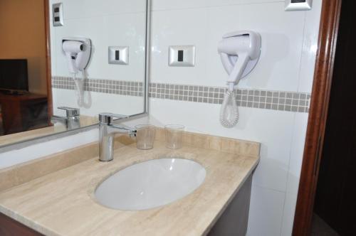 A bathroom at Nuevo Hotel Constitucion