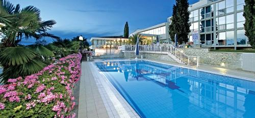 The swimming pool at or near Hotel Zorna Plava Laguna