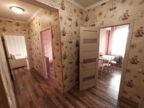A bathroom at Элегантная двухкомнатная квартира в центре