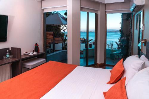 Cama o camas de una habitación en Hotel Boutique 17