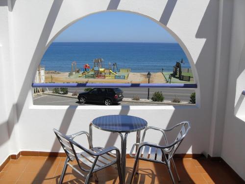 Un balcón o terraza de Hotel Mojácar Playa