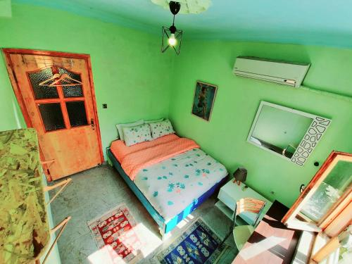 A bed or beds in a room at hostel vague