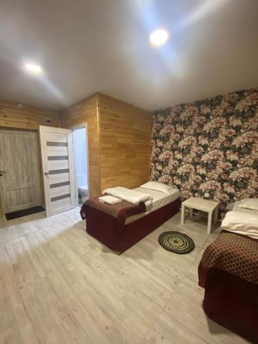 Zona de estar de Гостиный Двор Ольхонский