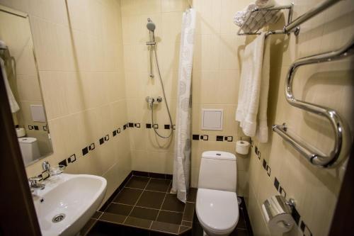 Ванная комната в Парк Хаус Отель