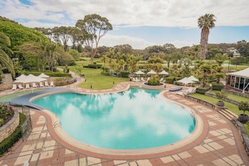 A view of the pool at Joondalup Resort or nearby