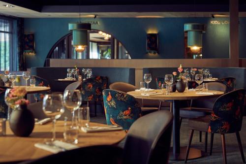 Een restaurant of ander eetgelegenheid bij Van der Valk Hotel Gilze-Tilburg