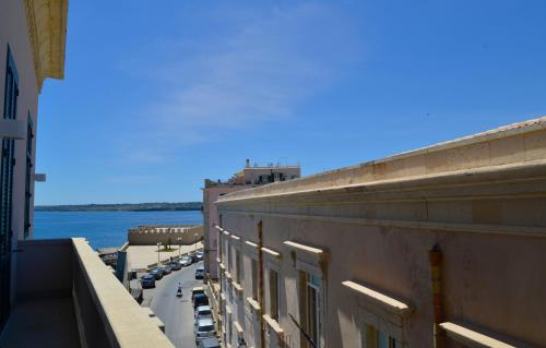 A balcony or terrace at Hotel Livingston