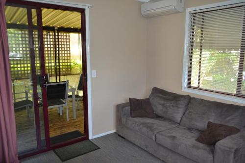 A seating area at Kedron Cottages
