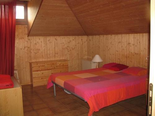 Ein Bett oder Betten in einem Zimmer der Unterkunft Casa Jolanda