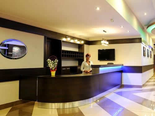 Hol lub recepcja w obiekcie TSA Restauracja Hotel Aquarius