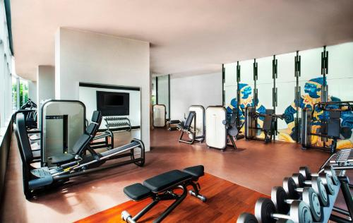 The fitness center and/or fitness facilities at W Bangkok Hotel