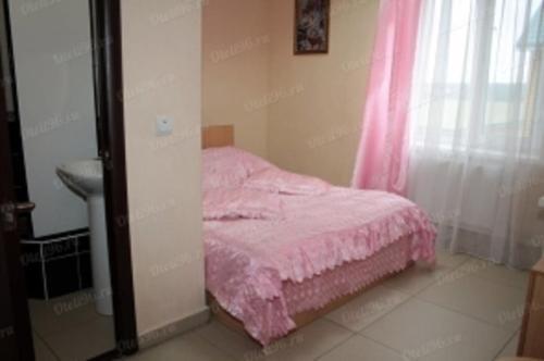 Кровать или кровати в номере RUS-отель