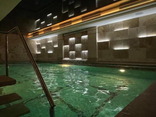 The swimming pool at or near Hotel Alexandar Lux