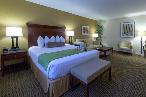 A bed or beds in a room at Best Western Plus Carpinteria Inn