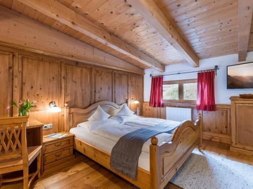 Ein Bett oder Betten in einem Zimmer der Unterkunft Hotel Gasthof Blaue Quelle