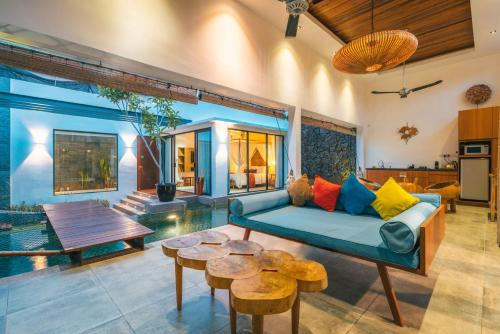 A seating area at La Villa Langkawi - Private Pool