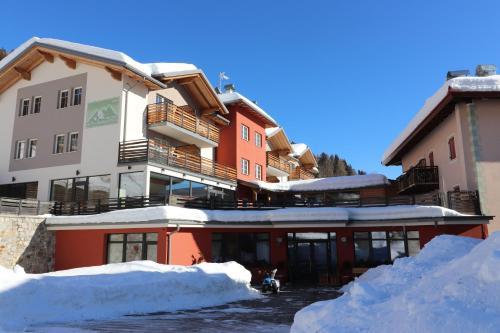 Alpen Garten Hotel Margherita durante l'inverno
