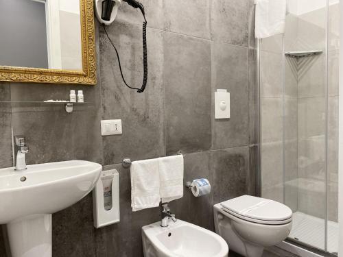 Łazienka w obiekcie Piazza Bovio 22