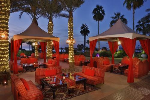 A restaurant or other place to eat at The Ritz-Carlton, Dubai