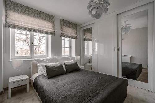 Łóżko lub łóżka w pokoju w obiekcie Hotel & Spa Dwór Droblin