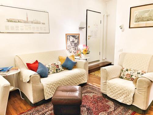 A seating area at Grimaldi Apartments Cannaregio