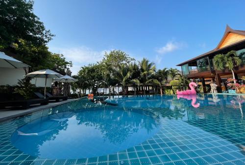 The swimming pool at or near Phi Phi Villa Resort