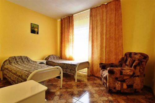 Гостиная зона в Guest House Villa u Morya