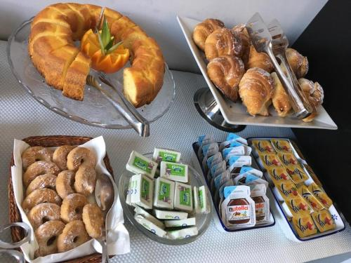 Breakfast options available to guests at Roma Veneto Relais