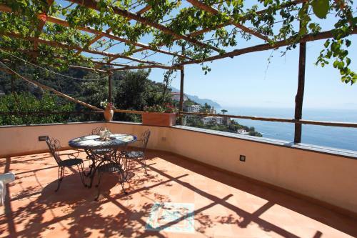 A balcony or terrace at Villa Borgo San Michele