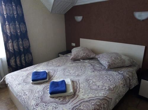 Кровать или кровати в номере Мини-отель GuestHouse
