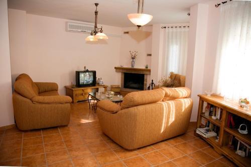 Zona de estar de Casa Rural La Pedrosa
