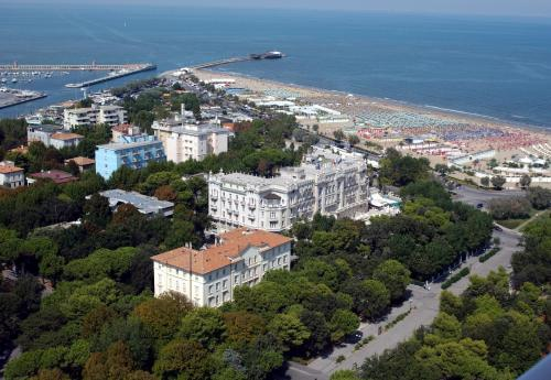 A bird's-eye view of Grand Hotel Rimini