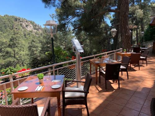 Εστιατόριο ή άλλο μέρος για φαγητό στο Ξενοδοχείο Νέα Ελβετία