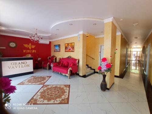 The lobby or reception area at Vavilon