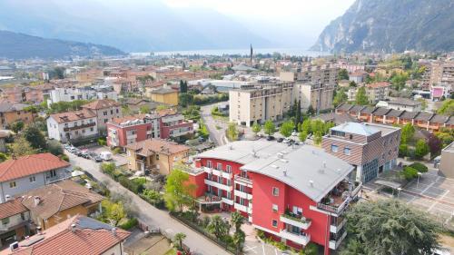 Vista aerea di Hotel Virgilio
