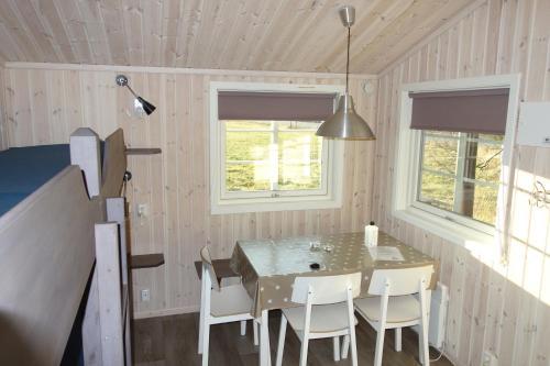Spiseplass på campingplassen