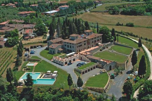 Vista aerea di Villa San Filippo